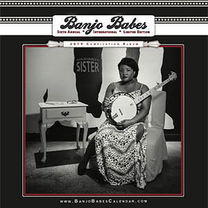 Banjo Babes 2019 calendar and CD available now